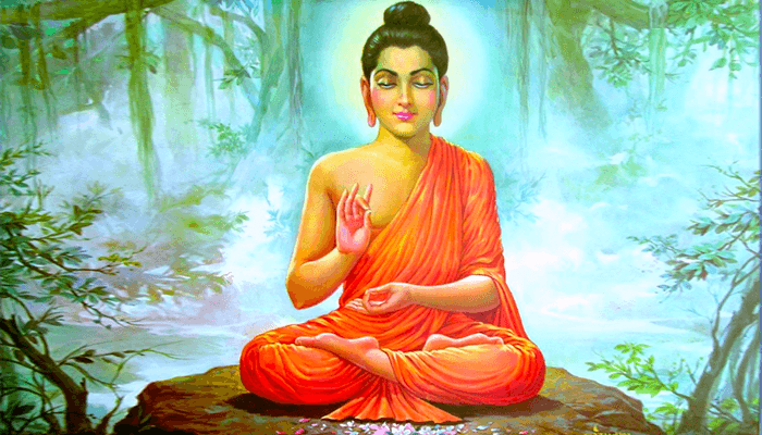 будда пацифист