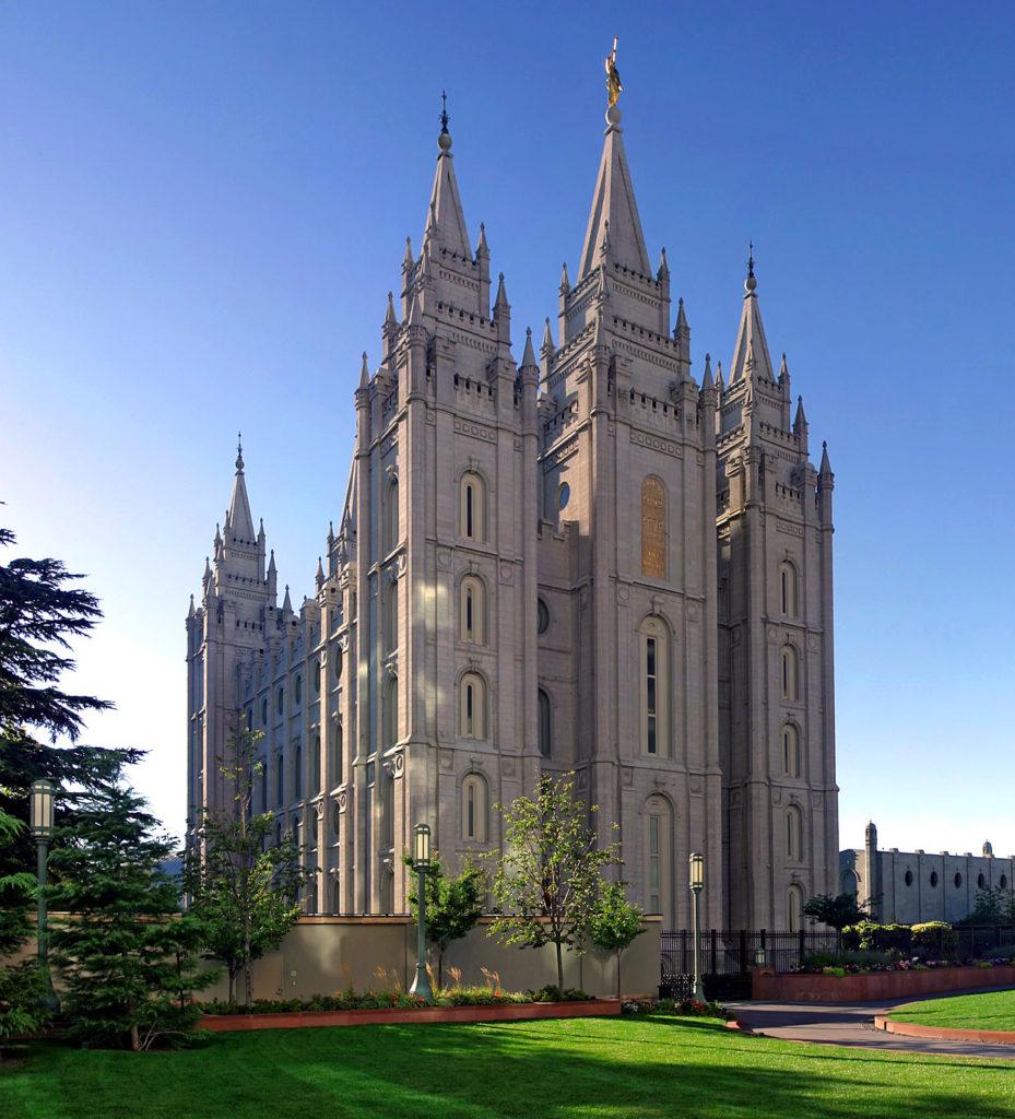 как выглядит храм мормонов