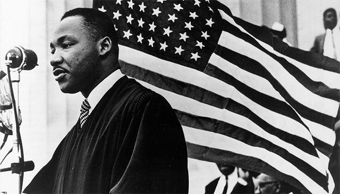 Мартин Лютер Кинг баптист