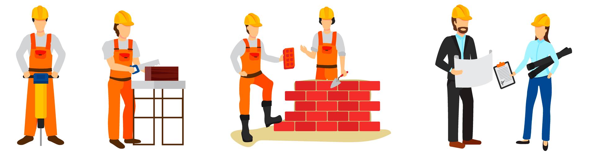 Кто такой строитель — виды специальностей, плюсы и минусы работы